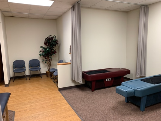 Treatment Room at Advanced Chiropractic and Rehabilitation: Gregory Otterman, DC