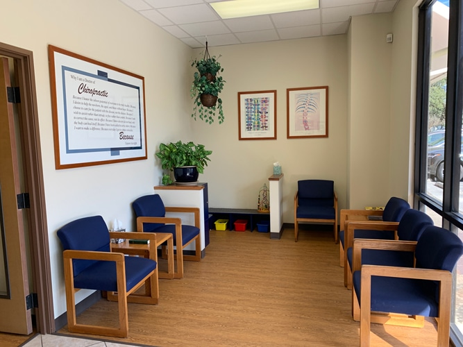 Waiting Room at Advanced Chiropractic and Rehabilitation: Gregory Otterman, DC